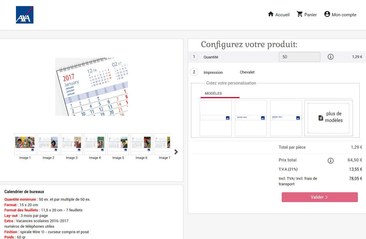 product personalisatie-module